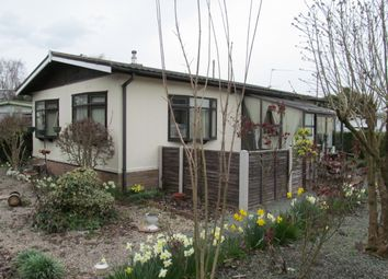 Thumbnail 2 bed mobile/park home for sale in Brooms Park (Ref 5265), Stone, Staffordshire