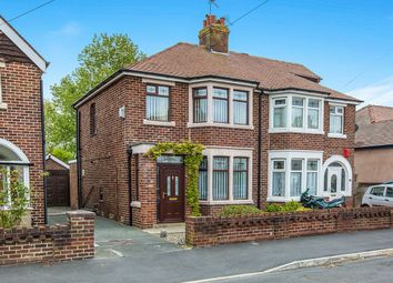 Thumbnail 3 bed semi-detached house for sale in Avenue Road, Blackpool