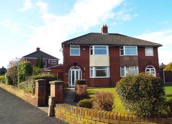 Thumbnail 3 bed semi-detached house for sale in Fairholme Avenue, Eccleston Park, Prescot, Merseyside