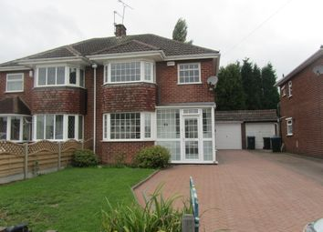Thumbnail 3 bed semi-detached house to rent in Grange Road, Longford, Coventry