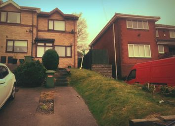 Thumbnail 2 bed end terrace house for sale in Clos Broniestyn, Pontypridd