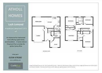 Thumbnail 4 bed detached house for sale in Seafield Road, Seafield, Seafield