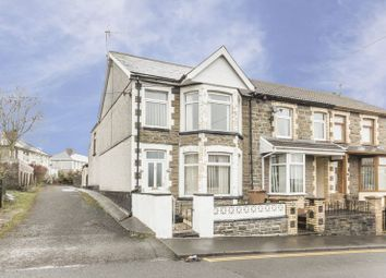 Thumbnail 3 bed end terrace house for sale in Moorland Road, Bargoed
