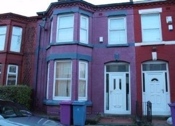 Thumbnail 4 bedroom terraced house for sale in Egerton Road, Wavertree, Liverpool, Merseyside
