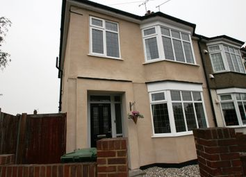 Thumbnail 3 bed end terrace house to rent in Rectory Road, Grays
