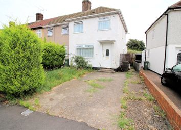 Thumbnail 3 bed semi-detached house for sale in Slade Gardens, Slade Green, Kent