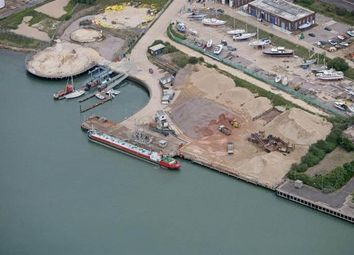 Thumbnail Commercial property to let in Waterfront Storage Land - Kingston Wharf, East Cowes, Isle Of Wight