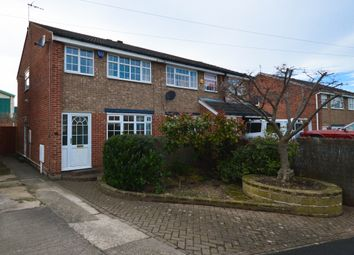 Thumbnail 3 bed semi-detached house for sale in Nethermoor Drive, Killamarsh, Sheffield