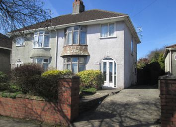 Thumbnail 3 bed semi-detached house for sale in Ravenhill Road, Ravenhill, Swansea, City And County Of Swansea.