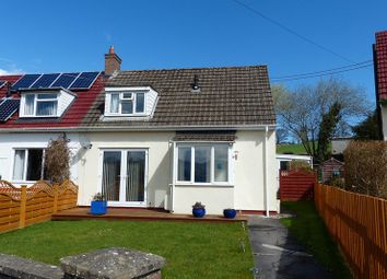 Thumbnail 2 bed semi-detached bungalow for sale in The Groesfford, Groesffordd, Brecon