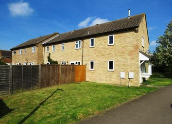Thumbnail 1 bedroom end terrace house for sale in Derwent Close, St. Ives, Huntingdon