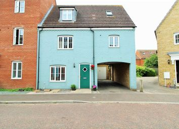 Thumbnail 3 bed town house for sale in Springham Drive, Myland, Colchester