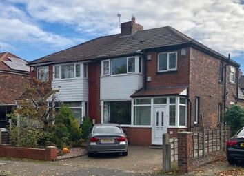Thumbnail 3 bed semi-detached house for sale in Kenilworth Avenue, Whitefield, Manchester, Greater Manchester