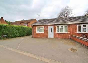 Thumbnail 2 bed semi-detached bungalow for sale in Boundary Road, Mountsorrel, Leicestershire