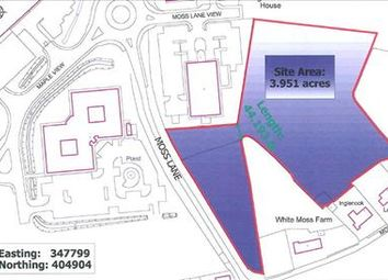Thumbnail Commercial property for sale in Whitemoss Business Park, Whitemoss Lane, Skelmersdale, (1 - 4 Acres)