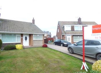 Thumbnail 3 bed bungalow to rent in Tunstall Road, Stockton-On-Tees