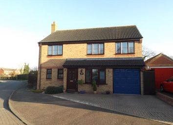 Thumbnail 5 bed detached house for sale in Ash Tree Close, Attleborough