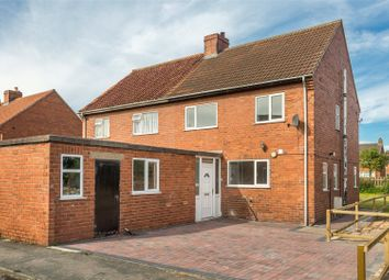 Thumbnail 3 bed semi-detached house to rent in Turnhead Crescent, Barlby, Selby, North Yorkshire