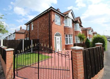 Thumbnail 3 bed semi-detached house for sale in Leamington Road, Reddish, Stockport, Cheshire