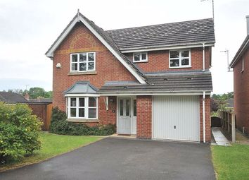 Thumbnail 4 bed detached house to rent in Whitfield Drive, Macclesfield