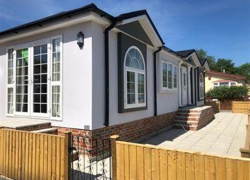 Thumbnail 2 bed mobile/park home for sale in Swanbridge Park Homes, London Road, Dorchester