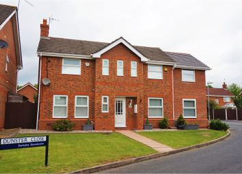 Thumbnail 4 bedroom detached house for sale in Dunster Close, Worcester