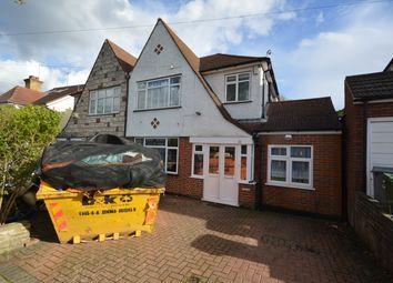Thumbnail 4 bed semi-detached house to rent in Regal Way, Kenton, Harrow
