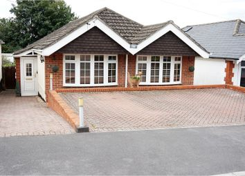 Thumbnail 3 bed detached bungalow for sale in Caxton Avenue, Southampton