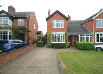 Thumbnail 3 bedroom semi-detached house for sale in The Green, Church Street, Burbage, Hinckley