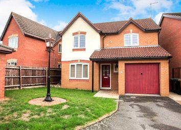 Thumbnail 3 bed detached house for sale in Houghton Avenue, Peterborough