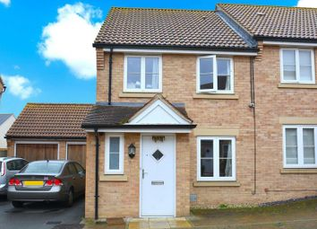 Thumbnail 3 bedroom semi-detached house to rent in Cagney Crescent, Milton Keynes, Buckinghamshire