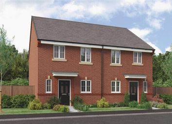 "Thumbnail 3 bedroom mews house for sale in ""The Hawthorne"" at Parkside, Hebburn"