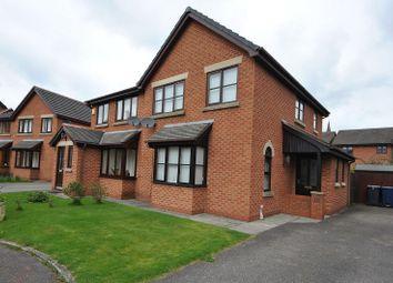 Thumbnail 3 bed semi-detached house to rent in Chapel Meadows, Tarleton, Preston, Lancashire.