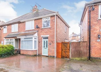 Thumbnail 3 bed semi-detached house for sale in Blaby Road, Enderby, Leicester