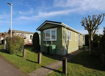 Thumbnail 1 bedroom bungalow to rent in Poplar Caravan Site, Castle Hill Road, Totternhoe, Dunstable