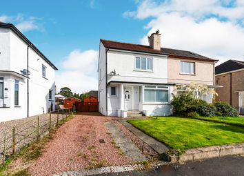 Thumbnail 3 bedroom semi-detached house for sale in Lawrence Avenue, Helensburgh