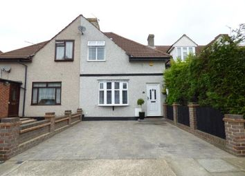 Thumbnail 3 bed terraced house for sale in Crescent Avenue, Hornchurch