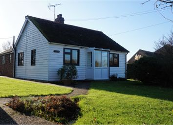 Thumbnail 3 bed detached bungalow for sale in High Halden, Ashford