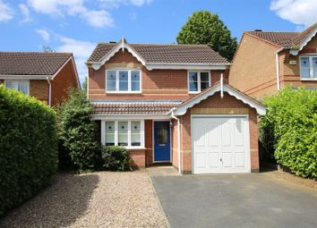 Thumbnail 3 bed detached house for sale in Hauser Close, Quarrington, Sleaford