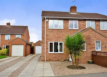Thumbnail 3 bed semi-detached house for sale in Manor Close, Hemingbrough, Selby