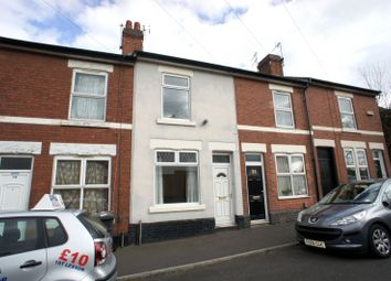Thumbnail 2 bed terraced house to rent in Hampden Street, Pear Tree, Derby
