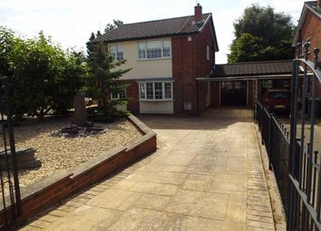 Thumbnail 4 bed link-detached house for sale in Mansfield Road, Edwinstowe, Nottinghamshire