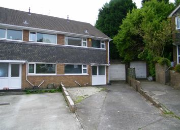 Thumbnail 3 bedroom semi-detached house for sale in Dylan Close, Killay, Swansea
