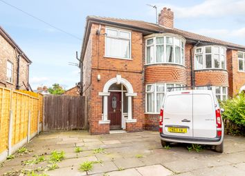 Thumbnail 3 bedroom semi-detached house for sale in Barlow Moor Road, Manchester, Greater Manchester