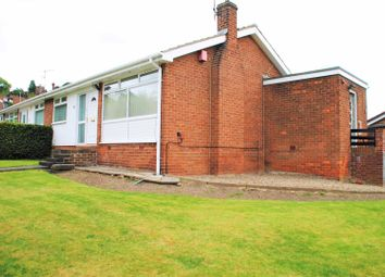 Thumbnail 2 bed semi-detached bungalow to rent in Hunstanton Court, Gateshead