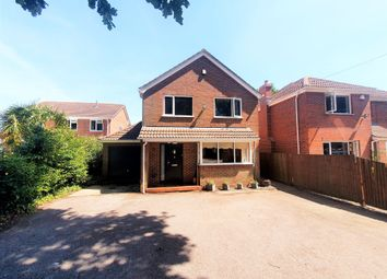 Thumbnail 4 bed detached house for sale in Brook Lane, Sarisbury Green, Southampton