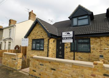 Thumbnail 3 bed semi-detached bungalow for sale in London Road, Gisleham, Lowestoft