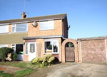 Thumbnail 3 bed semi-detached house for sale in Leggatt Drive, Bramford, Ipswich, Suffolk