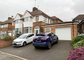3 bed semi-detached house for sale in Warwick Road, Acocks Green, Birmingham, West Midlands B27