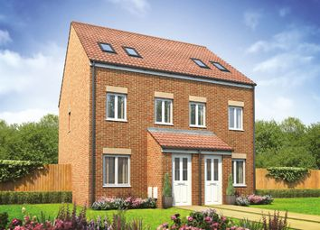 """Thumbnail 3 bed terraced house for sale in """"The Sutton"""" at Adlam Way, Salisbury"""